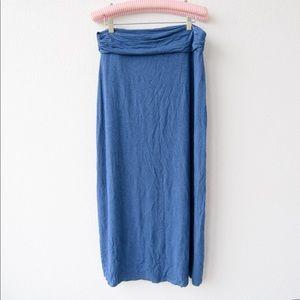 Jcrew jersey knit maxi skirt